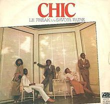 """""""Le Freak"""" is a song by the band Chic. It was the band's third single and first Billboard Hot 100 and soul music number-one song. Along with the tracks, """"I Want Your Love"""" and """"Chic Cheer"""", """"Le Freak"""" scored number one on the disco charts for seven weeks."""