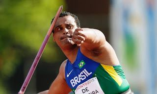 Blog Esportivo do Suíço:  Júlio Cesar de Oliveira conquista medalha de bronze no lançamento de dardo no Pan