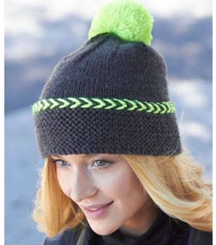 Pop Of Color Crochet Hat | FREE Winter Hat pattern from @joannstores