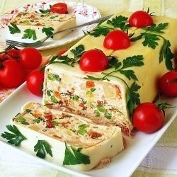 Vegetable Terrine With Cheese