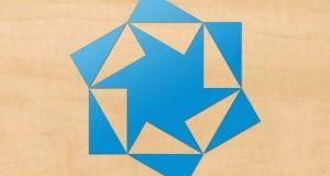 Montessori - Blue triangles