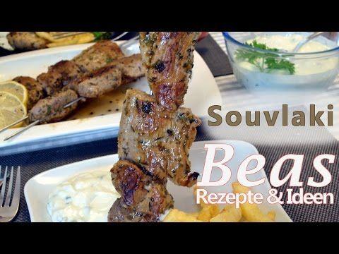 Souvlaki Spieße - Grillrezept - Glutfeuer BBQ - YouTube