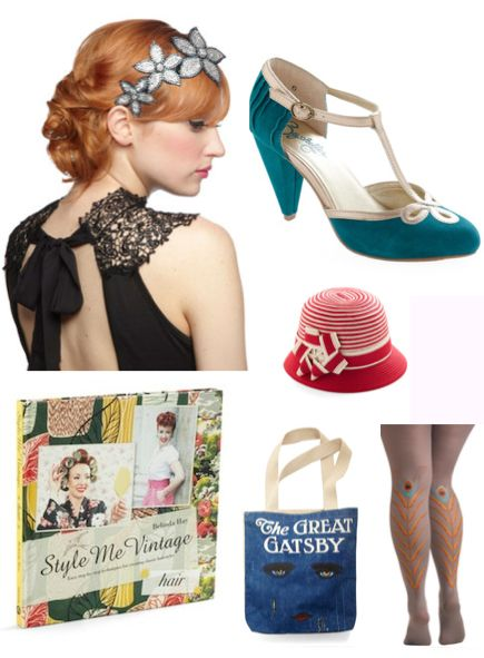 Gatsby Clothing Inspiration   DIY Fashion + Beauty + Style   Pinterest