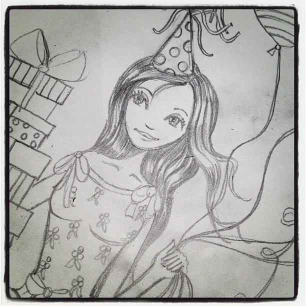 ©Cartita Design - Birthday Girl #Padgram