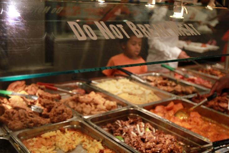 Jamaican food Tera Nova Hotel Food, Roast rack of lamb
