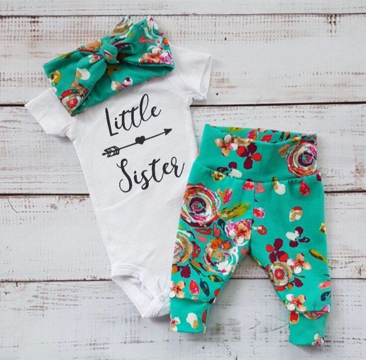 A personal favorite from my Etsy shop https://www.etsy.com/ca/listing/518703425/newborn-baby-coming-home-outfit-baby