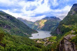 Geirangerfjord / Źródło foto: wikipedia.org