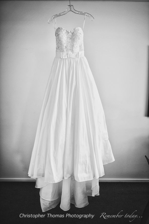 Brisbane Wedding Photographer, wedding dress,  Christopher Thomas Photography