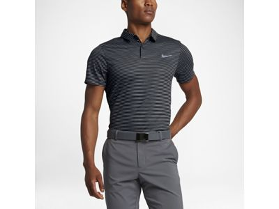 Polo da golf con fit aderente Nike Momentum Fly Dri-FIT Wool Stripe - Uomo