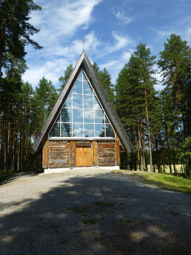 Eeva Ryynänen's wooden church (2014)