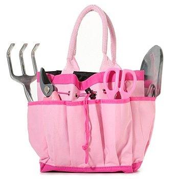 pink garden tools: Pink Garden