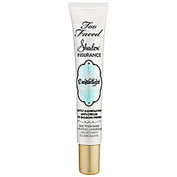 Too Faced Shadow Insurance!    I have super oily skin and my eyelids are always slick so I can never keep eye makeup on.  This is my fav!  Works like a charm!  I can now wear eye shadow for about 5 hrs without creasing and then thereafter get a minimal crease.