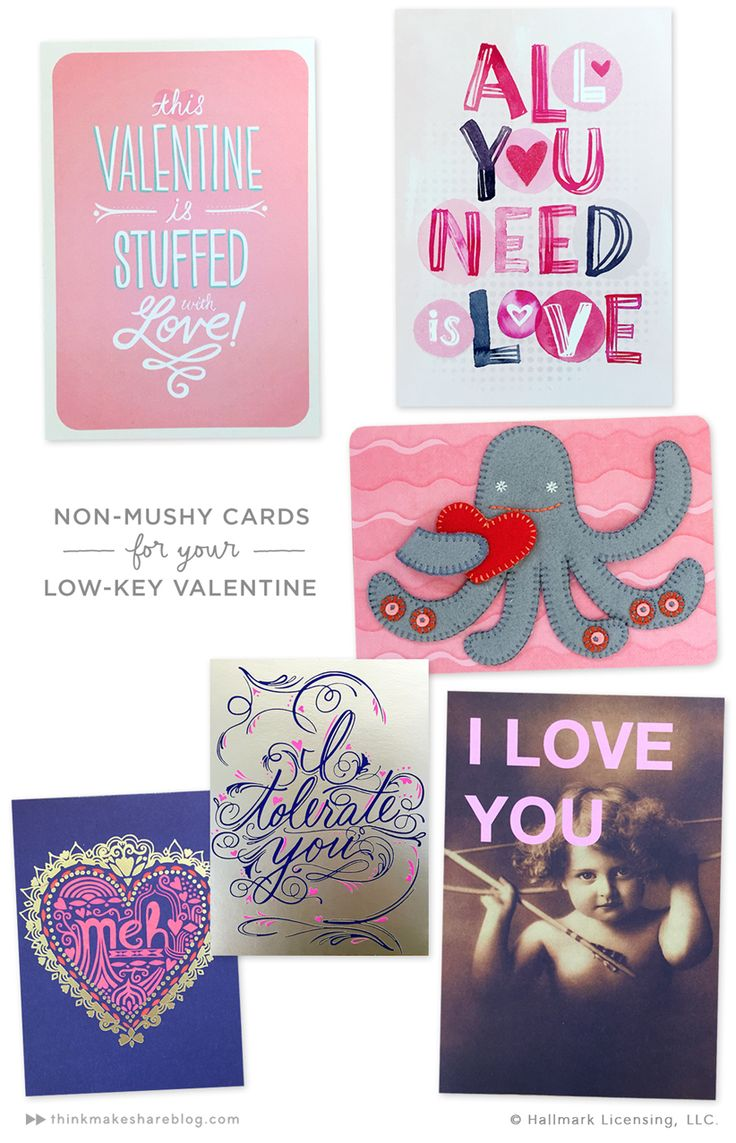 CARDS FOR A LOW KEY VALENTINES DAY Thinkmakeshareblog