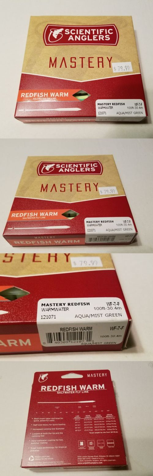 Fly Line Leaders and Tippets 23817: Scientific Anglers Mastery Saltwater Fly Fishing Line Redfish Warmwater Wf-7-F -> BUY IT NOW ONLY: $34.99 on eBay!