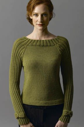 Bow-Tie Pullover in ZARA- nice shaping- free pattern