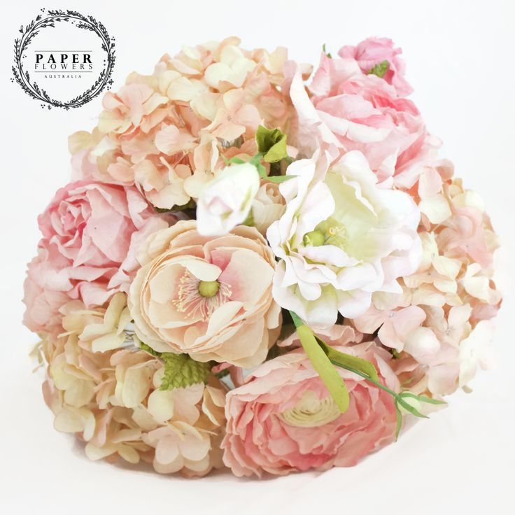 Large Pink SAA paper Bouquet