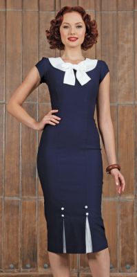 FRSTCL-03 NAVY-just too cute. Love the detail at the top and bottom.