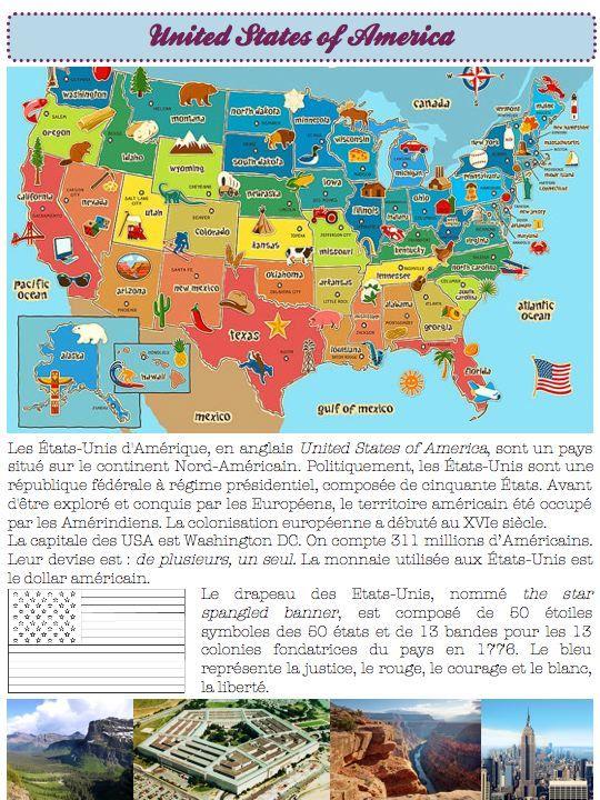 civilisation-États-Unis - Dans ma classe, il y a...                                                                                                                                                                                 Plus