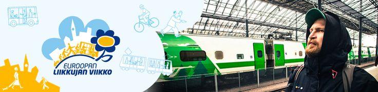 1) Liikkujan viikko 16.-22.9.2) Motivan sivuilla paljon lisää...http://www.motiva.fi/files/9058/Liikkujan_viikko_2014_Omilla_poluilla_ja_radioaalloilla_Kaisa_Kauhanen_ja_Sirpa_Mustonen.pdf