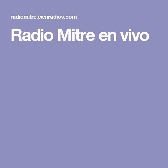 Radio Mitre en vivo