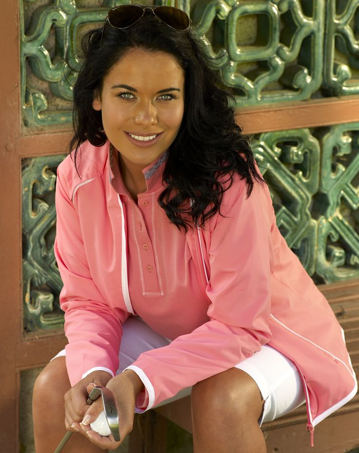 jacket from the Kartel #ladies golf summer collection