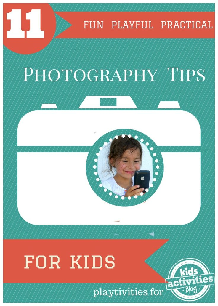 Simple & awesome photography tips for kids without fancy equipment....love the video!!! So cute.