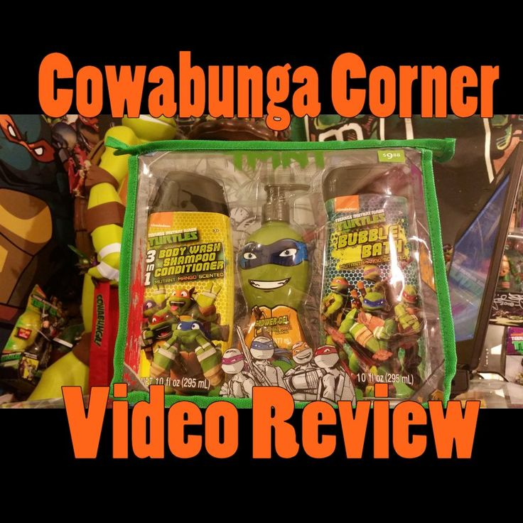 Teenage Mutant Ninja Turtles Video Review Of A Nickelodeon TMNT Bath Set By  MZB Found At