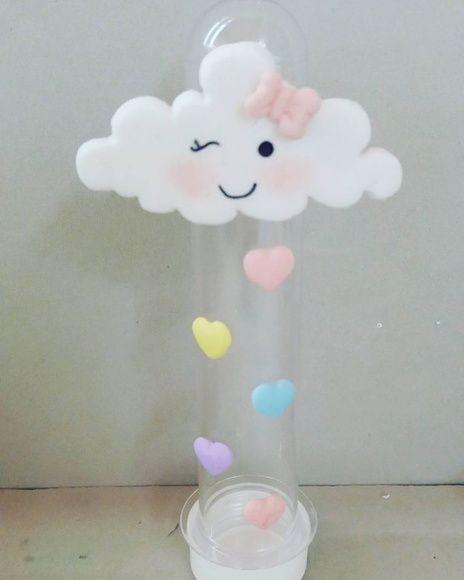 lembrancinha chuva de amor tubete