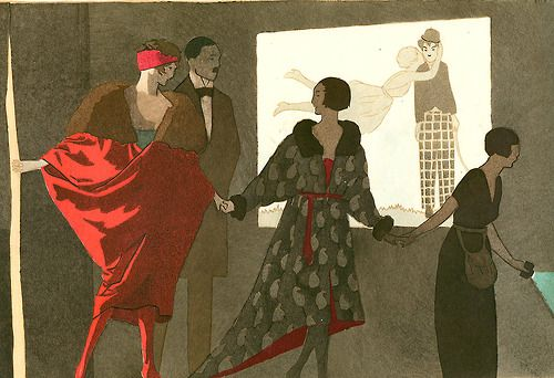 Le Cine by A E Marty, 1919
