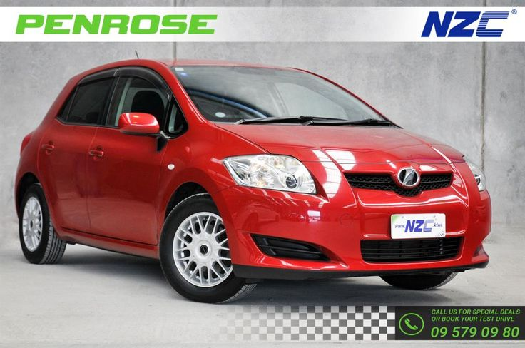 Contact NZC Kiwi today and get hold of the most awaited luxury car, 2007 Toyota Auris LOW KS SMART KEY 15'MAGS car at the most nominal prices. Purchase this used car for sale now and get the car of your dreams.