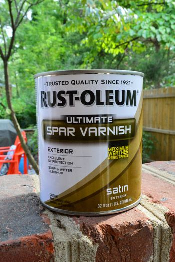 Protecting Outdoor Furniture With Varnish And Teak Oil Part 60