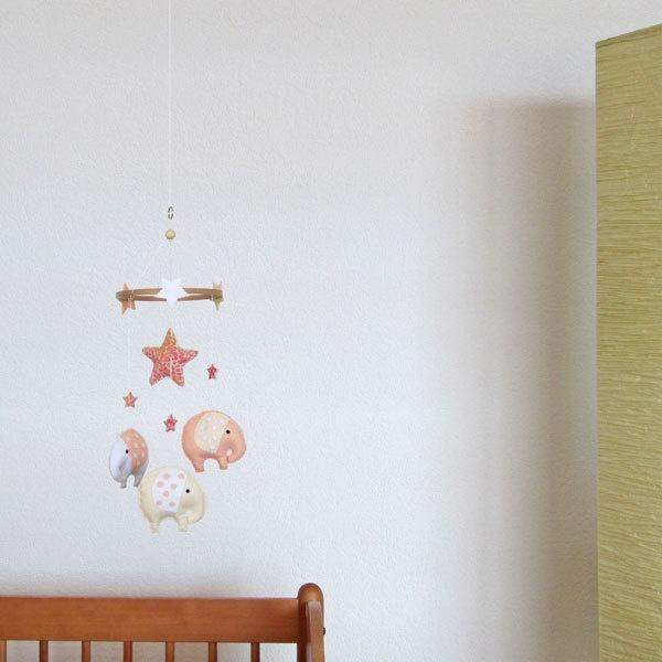 poetic elephant stars baby crib deco mobile choose colors unique nursery unusual furniture uk cool cribs bedding
