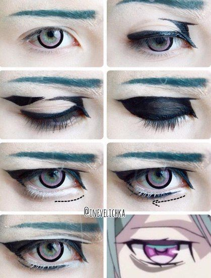 #Cosplay_Studio #Tutorial #Makeup #Cosplay A selection of tutorials …