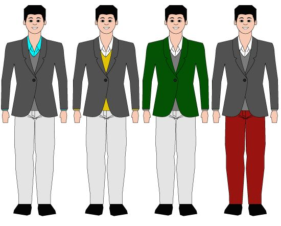 How to match clothes when your clueless about color matching