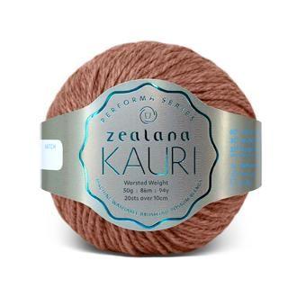 Zealana KAURI Worsted K08 Weka Brown