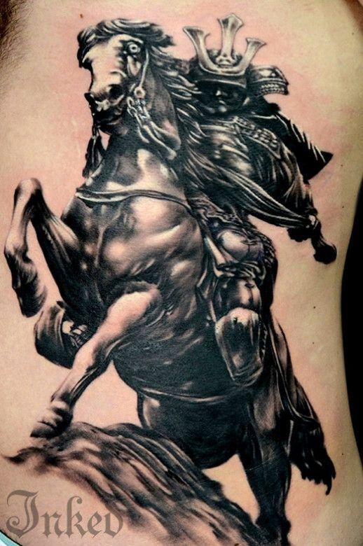 Japanese horse tattoo