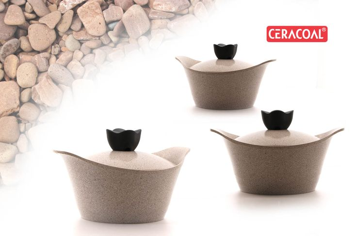 CERACOAL - Stone Cookware | Granite Cookware | Stockpot | Durability | Eco-friendly
