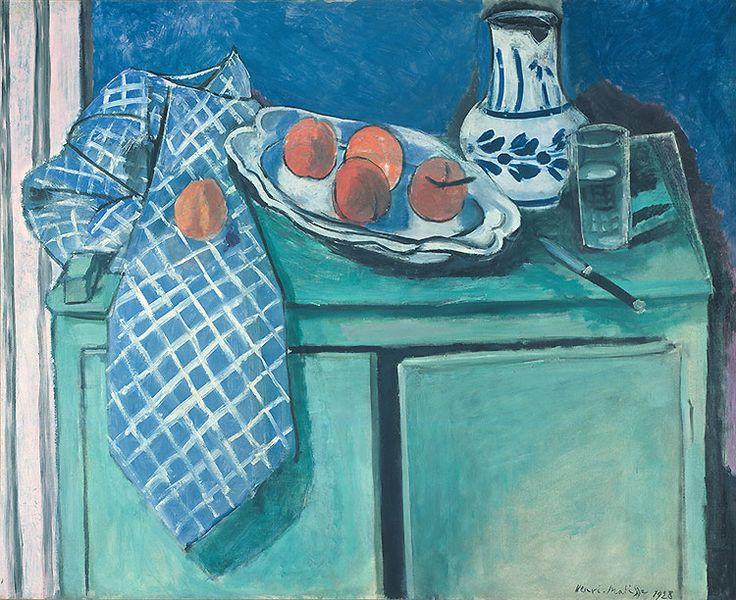 H. Matisse, Natura morta con credenza verde. Dalla mostra Matisse e il suo tempo, a Torino