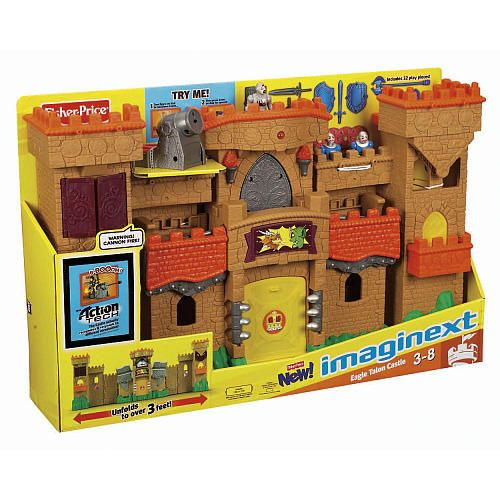 Toys R Us Prices : Fisher price imaginext eagle talon castle playset