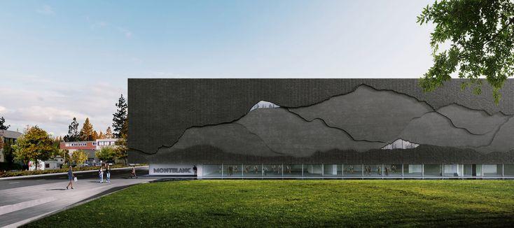 Nieto Sobejano Arquitectos, Montblanc Haus, Hamburg