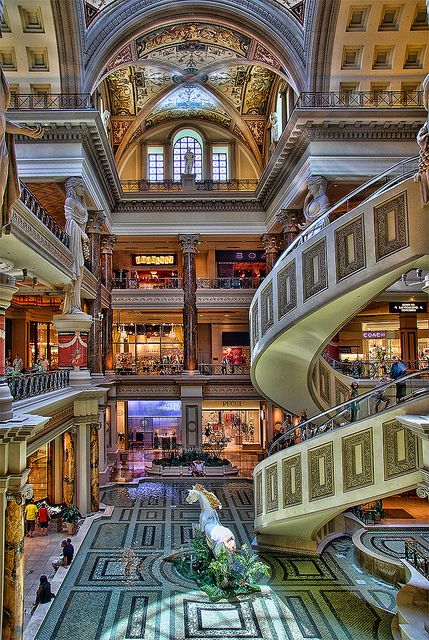 In case you're looking for a little shopping while at the Sleeter Solutions Conference.... The Forum Shops at Caesars Palace, Las Vegas