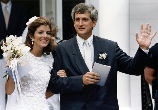 Caroline Kennedy and Edwin Schlossberg married on July 19, 1986.------28 yrs