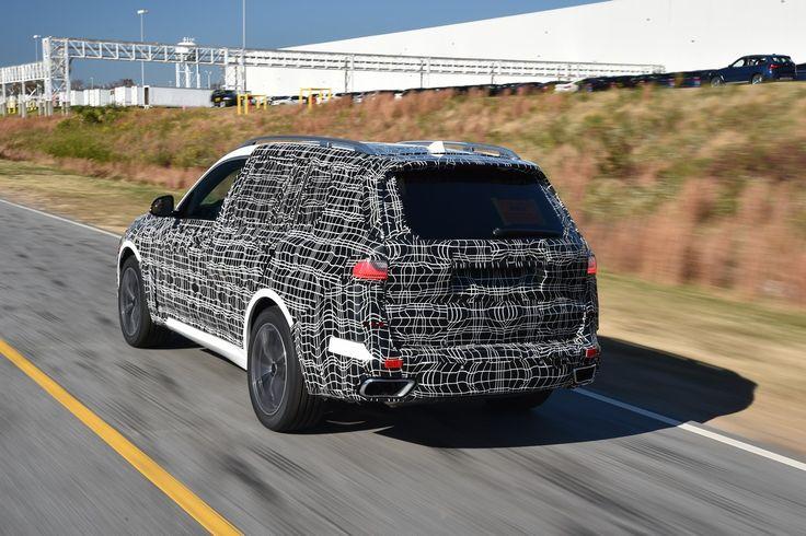 BMW X7: foto e video ufficiali preproduzione