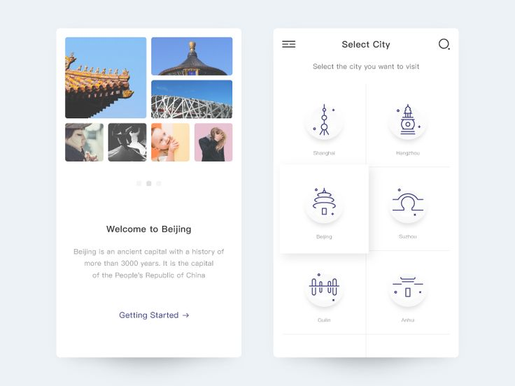 Tourism City by bill_ux #Design Popular #Dribbble #shots