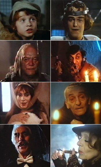¡Que ilusion me ha hecho encontrar esta serie!... La tía de Frankenstein / Frankensteins tante (1987)