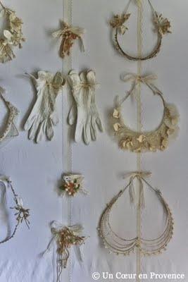 vintage bridal headpieces, etc.