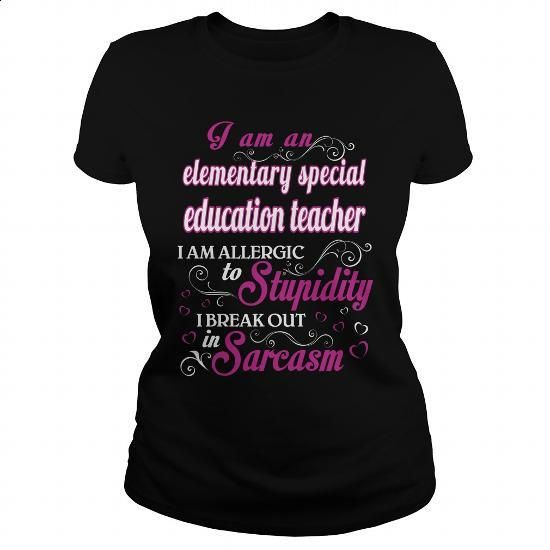 elementary special education teacher - WM T5 - #awesome hoodies #fitted shirts…