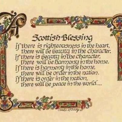 scottish blessing found it loved it and weaved it into a queen consorts coronation ceremony in one of my stories just because i good information in
