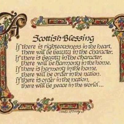 Scottish Blessing