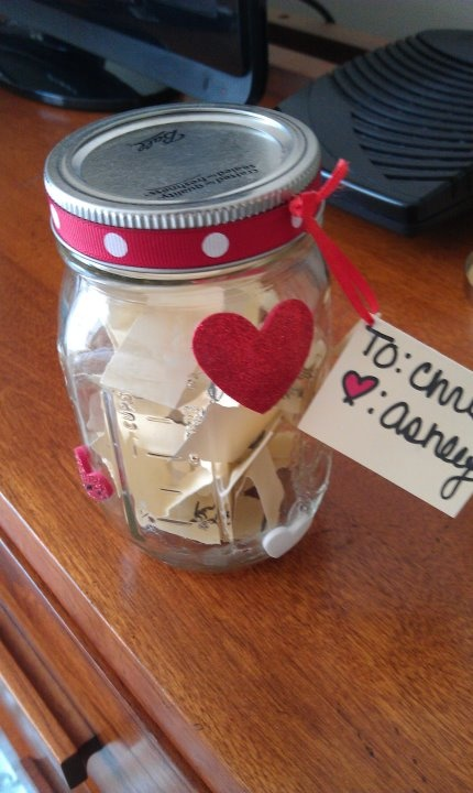 Reasons Why I Love You Jar I Made This For My Boyfriend Last Valentine S Day Valentine S Day Reasons Why I Love You Jars Lovey Dovey Holiday Spirit Always
